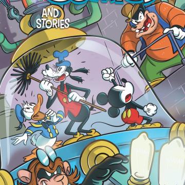 Disney Comics And Stories #13 (Mazzarello Cover)