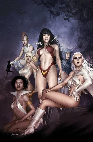 Sacred Six #12 (Ohta Virgin Cover)