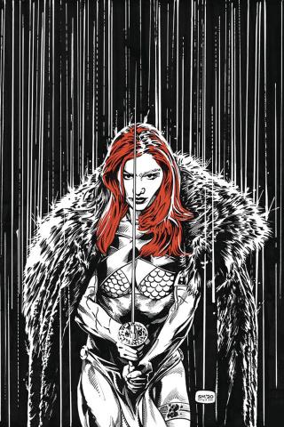 Red Sonja #17 (15 Copy Mooney Homage Virgin Cover)