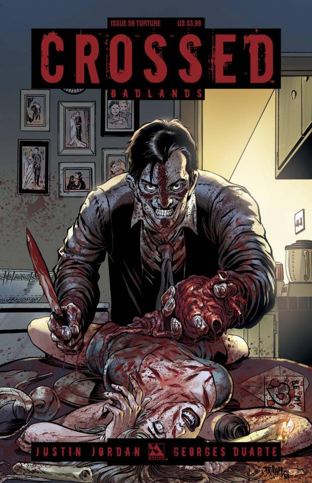 Crossed: Badlands #59 (Torture Cover)