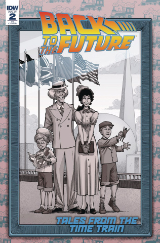Back to the Future: Tales from the Time Train #2 (10 Copy Cover)
