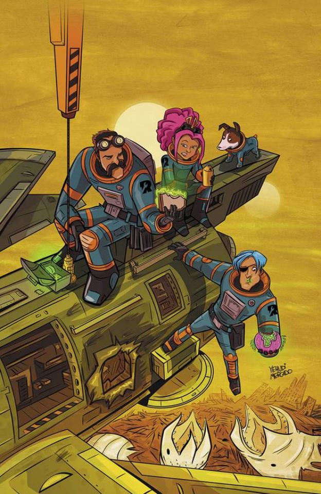 Rocket Salvage #1 (10 Copy Mercado Cover)
