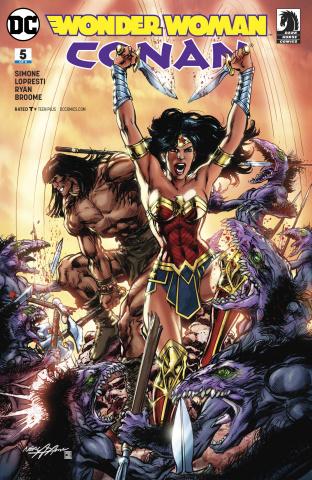 Wonder Woman / Conan #5 (Variant Cover)