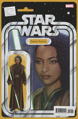 Star Wars: The High Republic #7 (Christopher Action Figure Cover)
