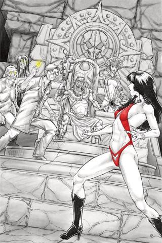 Vampirella vs. Reanimator #3 (25 Copy Shepherd Virgin Cover)