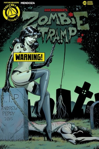 Zombie Tramp #20 (Pepoy Risque Cover)