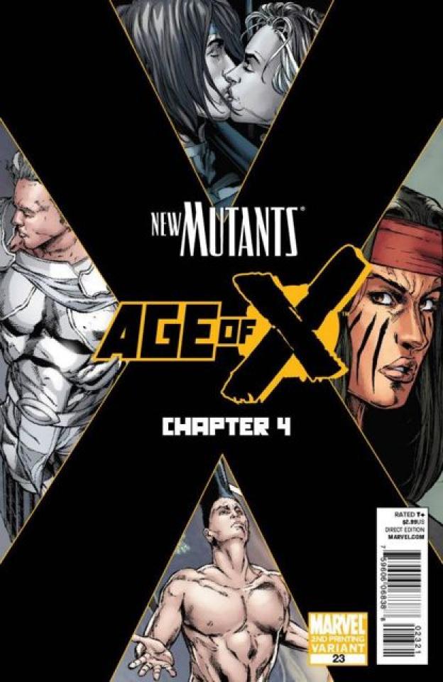 New Mutants #23 (2nd Printing)