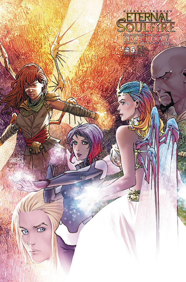 Eternal: Soulfire #5 (Aspenstore 2015 Cover)
