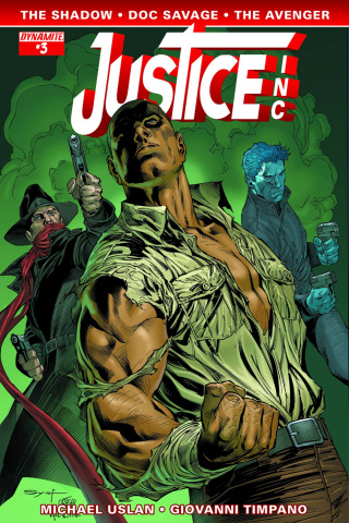 Justice, Inc. #3 (Syaf Cover)