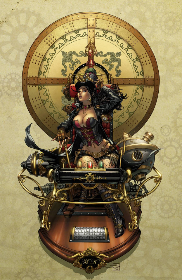 Grimm Fairy Tales: Van Helsing #6: 10th Anniversary Special (Krome Cover)