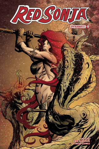 Red Sonja #17 (McKone Cover)