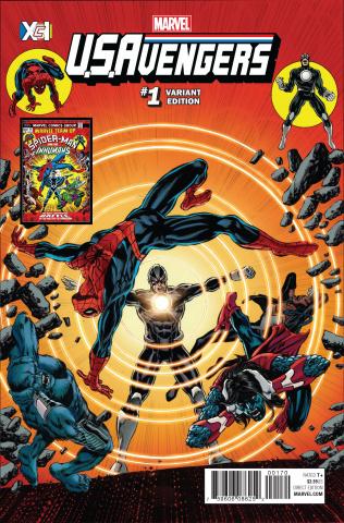 U.S.Avengers #1 (Perkins XcI Cover)