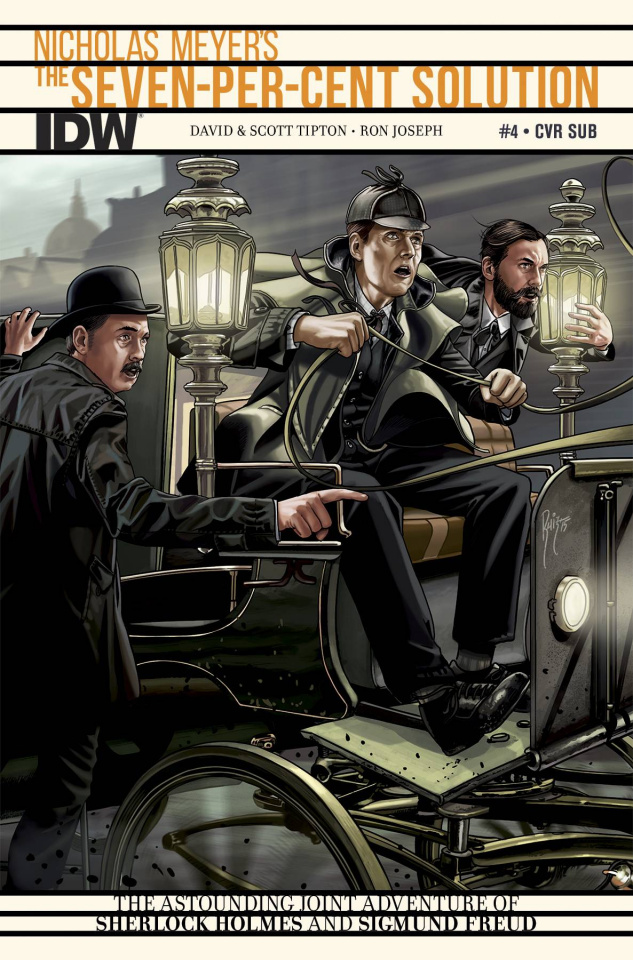 Sherlock Holmes: The Seven-Per-Cent Solution #4 (Subscription Cover)