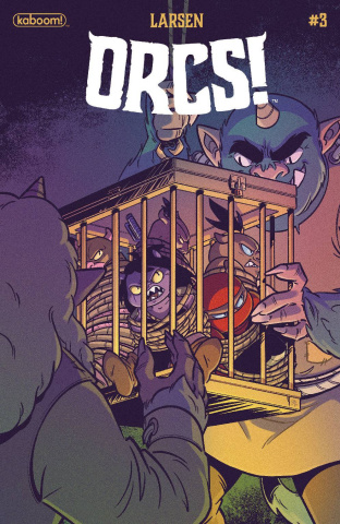 ORCS! #3 (Boo Cover)