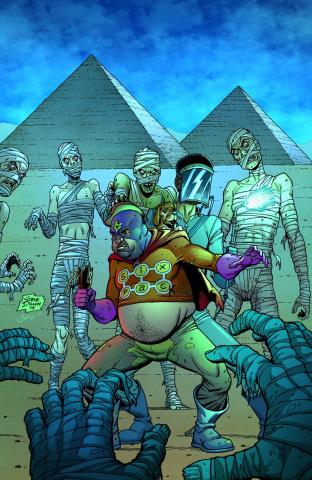 Six Pack & Dog Welder: Hard Travelin' Heroez #3