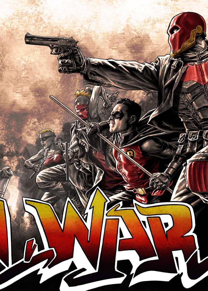 Robin War #2 (Variant Cover)