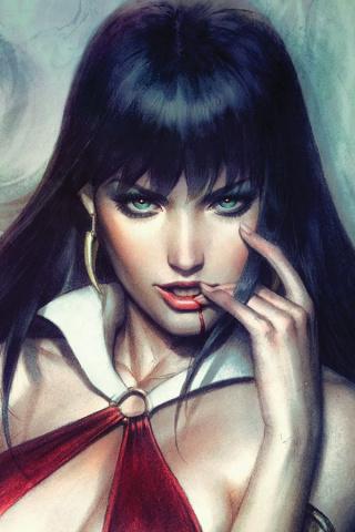 Vampirella #5 (50 Copy Artgerm Virgin Sneak Peek Cover)