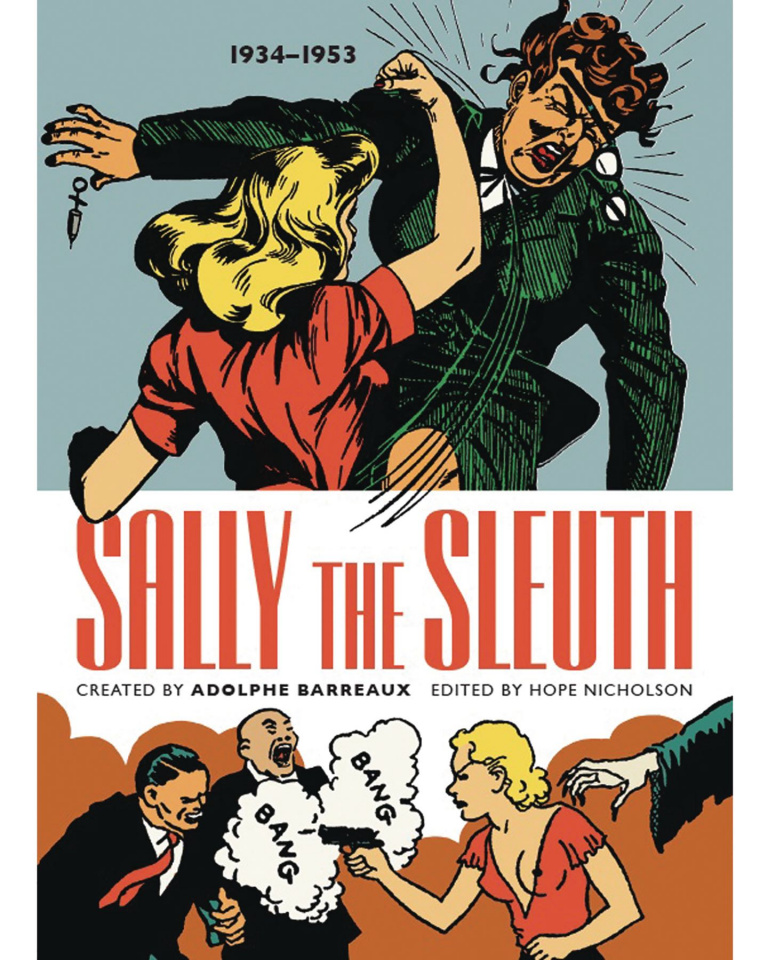 Sally the Sleuth (Color Edition)
