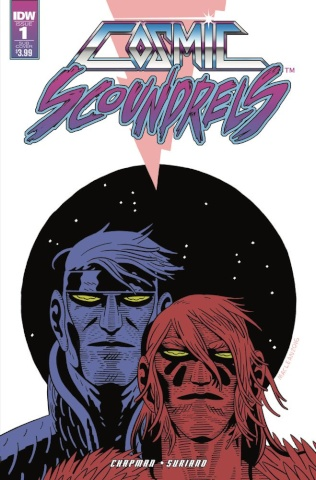 Cosmic Scoundrels #1 (Subscription Cover)
