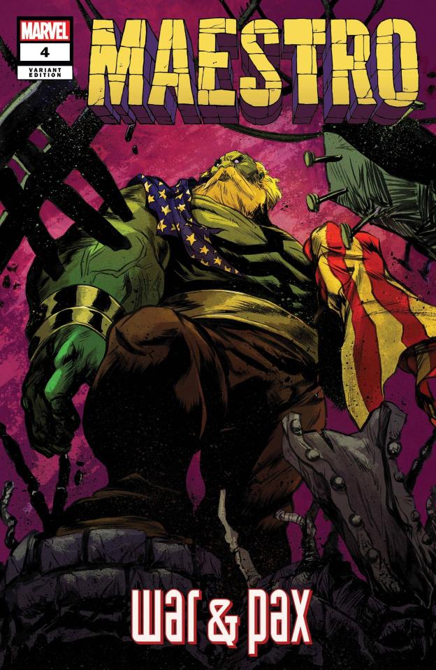 Maestro: War & Pax #4 (Greene Cover)