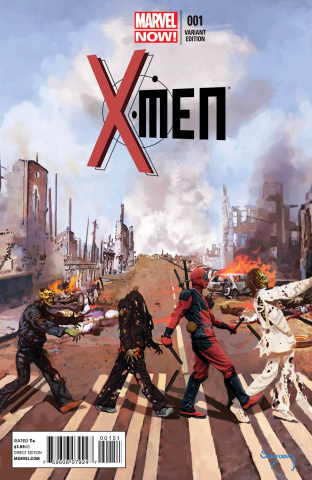 X-Men #1 (Deadpool Cover)