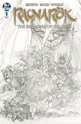 Ragnarök: The Breaking of Helheim #1 (10 Copy Simonson Cover)