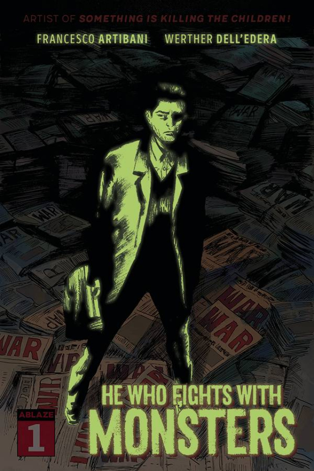 He Who Fights With Monsters #1 (20 Copy Glow in the Dark Cover)