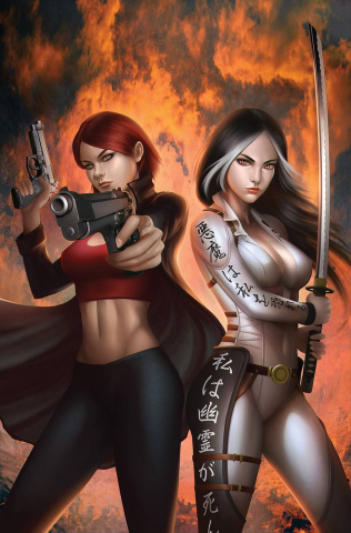 Grimm Fairy Tales: Inferno - Resurrection #2 (Meguro Cover)