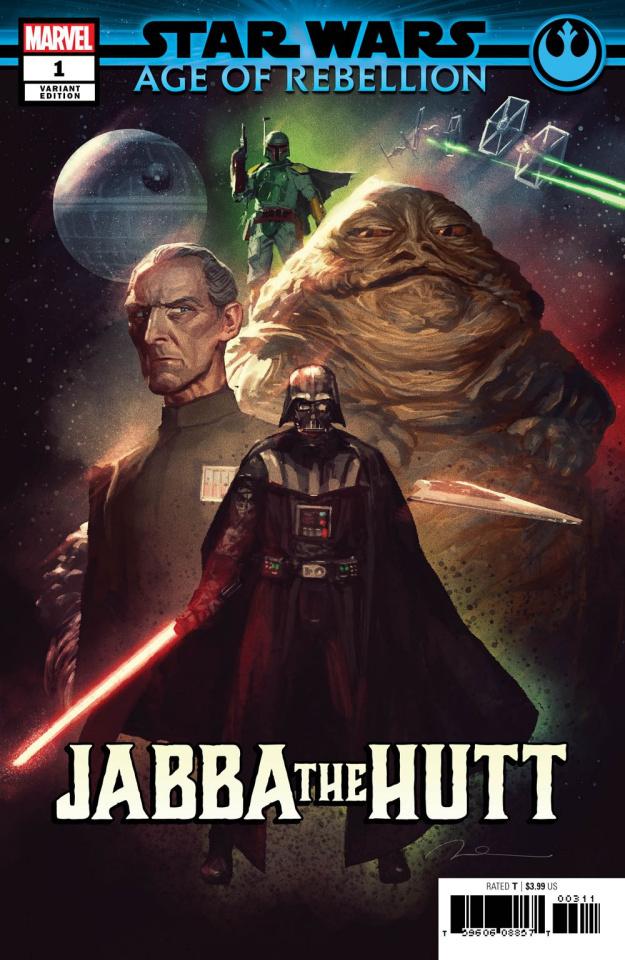 Star Wars: Age of Rebellion - Jabba the Hutt #1 (Parel Villains Cover)
