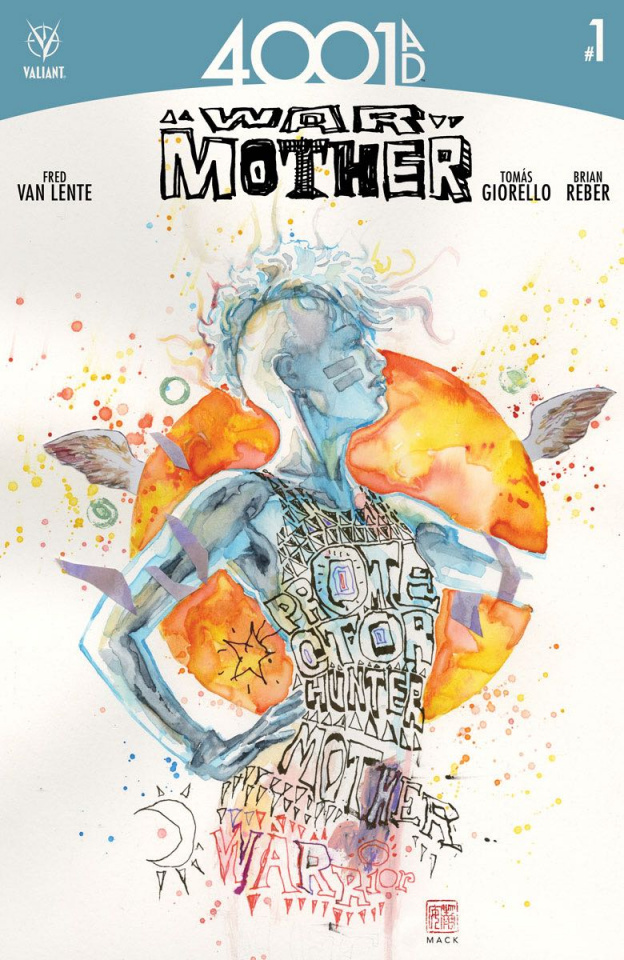 4001 AD: War Mother #1 (2nd Printing)