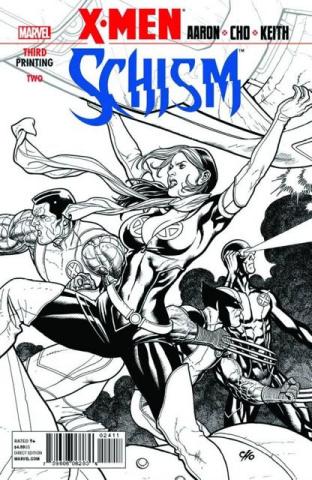 X-Men: Schism #2 (3rd Printing)