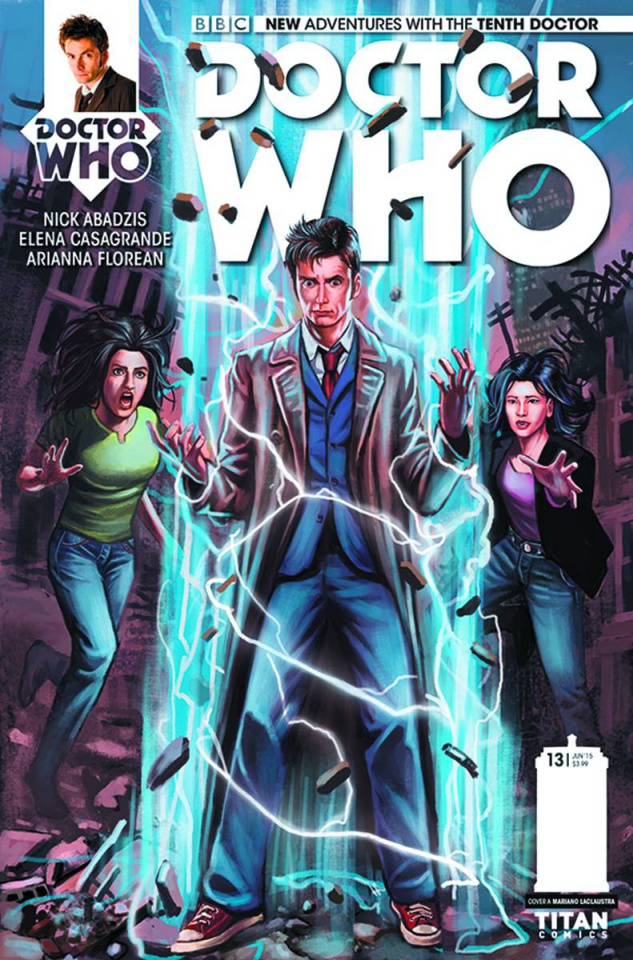 Doctor Who: New Adventures with the Tenth Doctor #13 (Laclaustra Cover)
