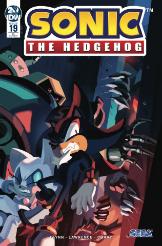 Sonic the Hedgehog #19 (10 Copy Fourdraine Cover)