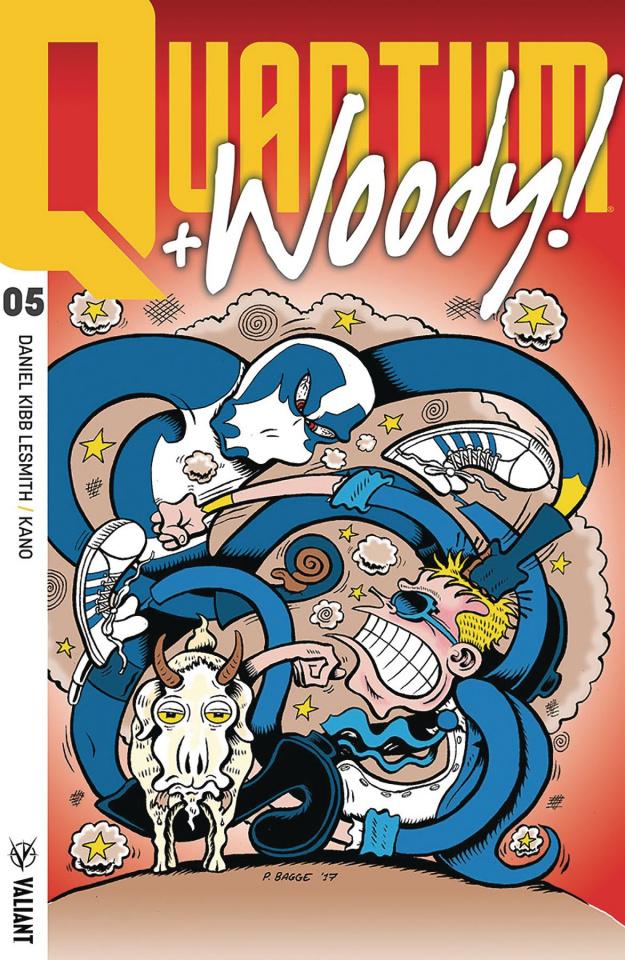 Quantum & Woody #5 (50 Copy Bagge Cover)