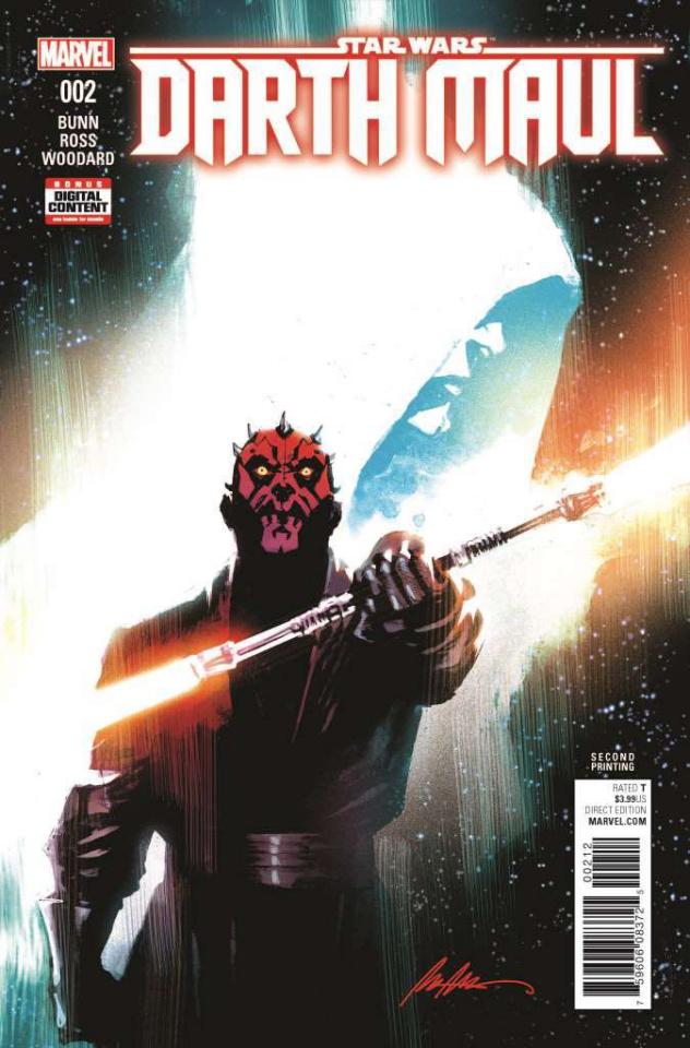 Star Wars: Darth Maul #2 (Albuquerque 2nd Printing)