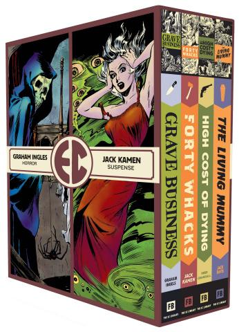 EC Comics: Four Vol. 4 (Slipcase)