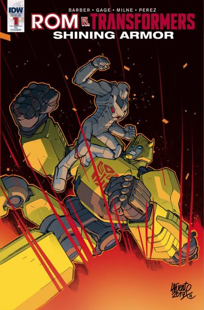 ROM vs. The Transformers: Shining Armor #1 (10 Copy Cover)