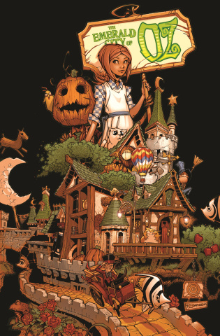 The Emerald City of Oz #1 (Bachalo Cover)