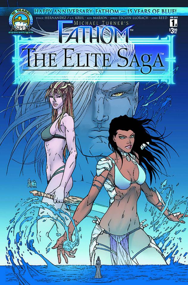 Fathom: The Elite Saga #1 (Marion Cover)