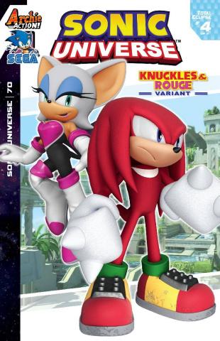 Sonic Universe #70 (Sega Cover)
