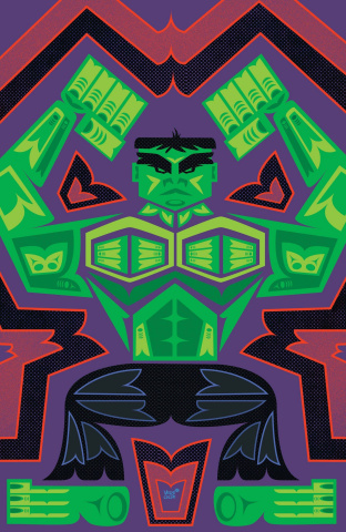 The Immortal Hulk #40 (Veregge Hulk Cover)