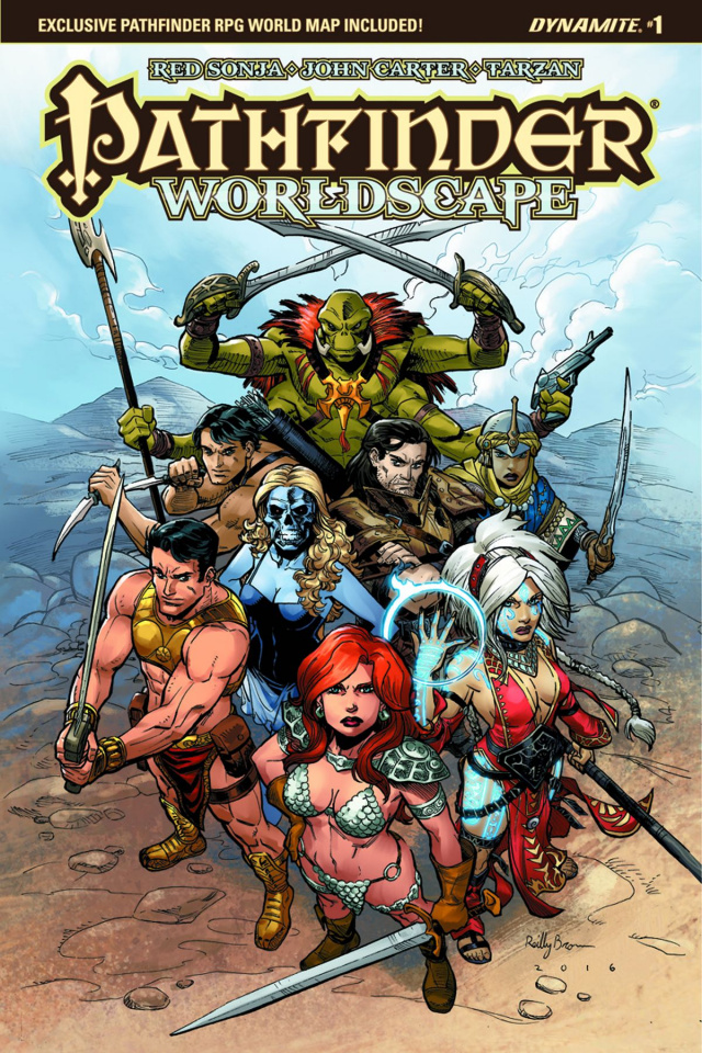 Pathfinder: Worldscape #1 (Brown Cover)