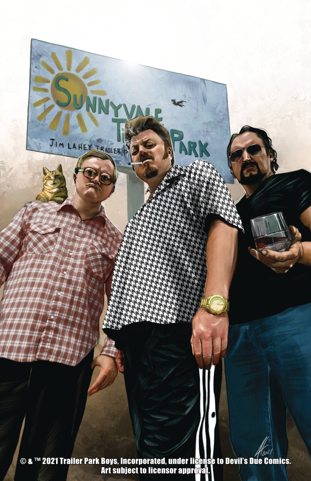The Trailer Park Boys Get a F#ing Comic Book #1 (2nd Printing)
