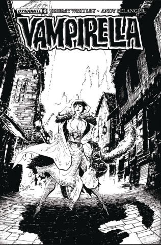 Vampirella #9 (20 Copy Tan B&W Cover)