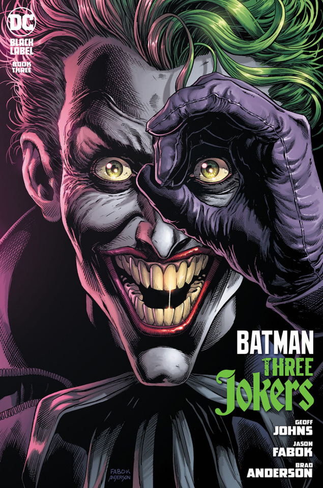 Batman: Three Jokers #3 (Jason Fabok Joker Cover)