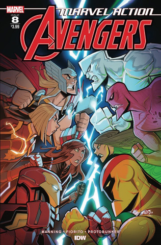 Marvel Action: Avengers #8 (Sommariva Cover)