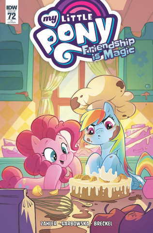 My Little Pony: Friendship Is Magic #72 (10 Copy Boo Cover)