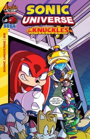 Sonic Universe #89 (Jampole Cover)