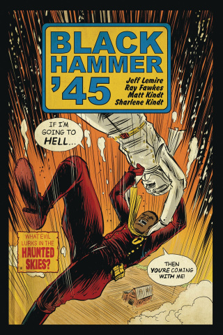 Black Hammer '45: From the World of Black Hammer #2 (Kindt Cover)