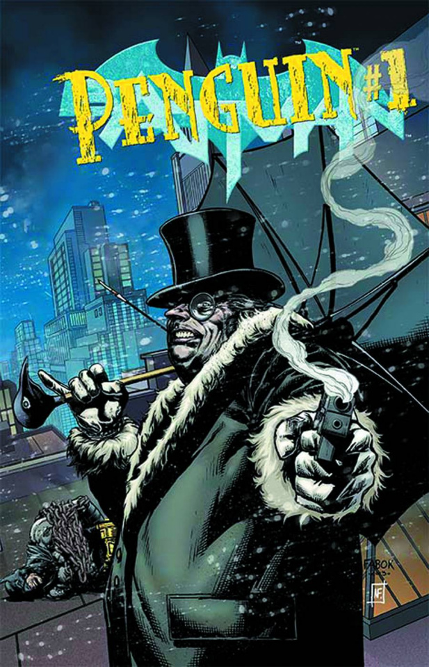 Batman #23.3: Penguin Standard Cover
